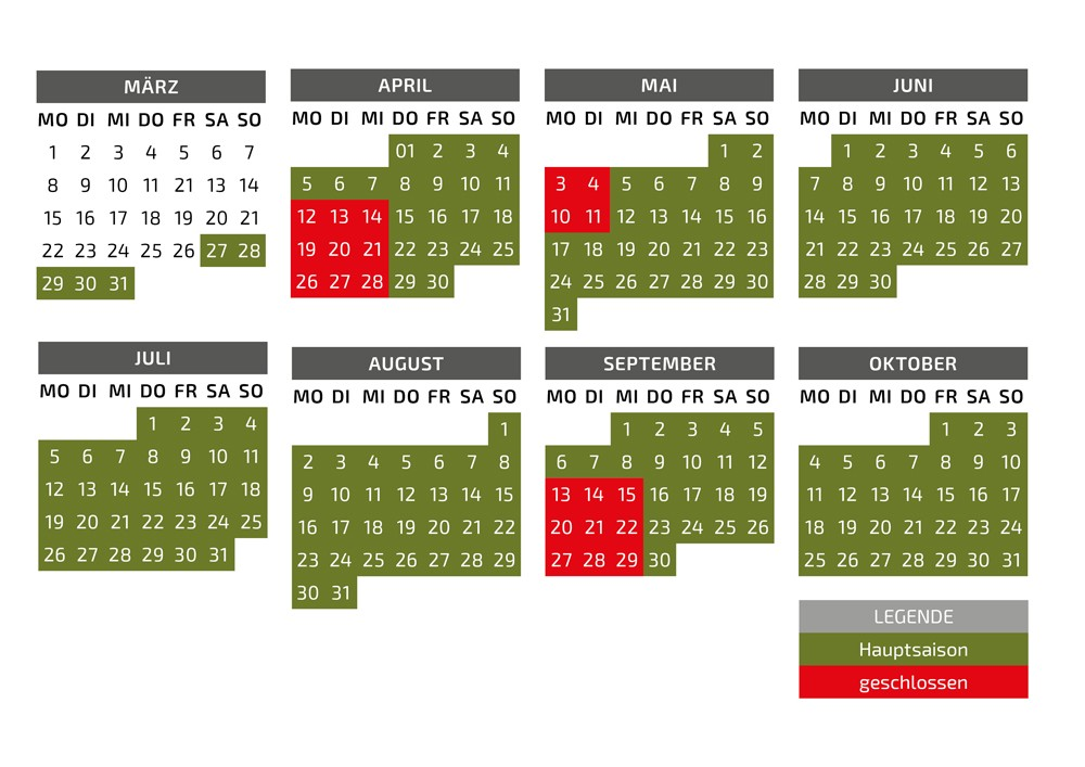 Saisonkalender 2021